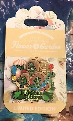 Disney Epcot Flower & Garden Festival 2018 Donald & Three Caballeros Pin LE 4000