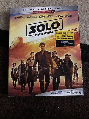 Solo: A Star Wars Story Blu-ray & Slipcover