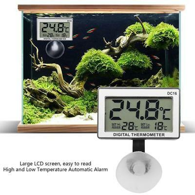DC16 Digital LCD Aquarium Thermometer Waterproof Thermometer for Fish Tank GS