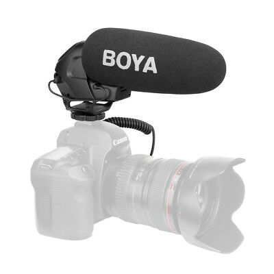 On-Camera Shotgun Mic Video Sound Recording Microphone for DSLR Cameras LF878