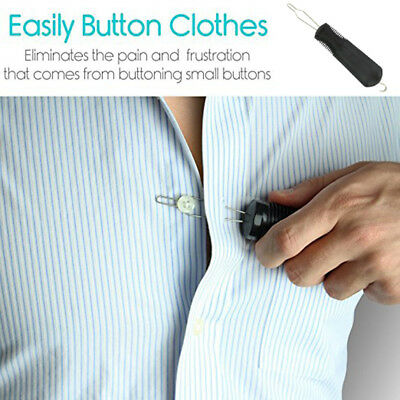 Vive Button Hook Zipper Pull Helper Dressing Aid Assist Device Tool ForArthritis