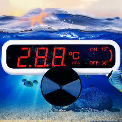 LED Digital Waterproof Fish Aquarium Guage Water Tank Temperature Thermometer
