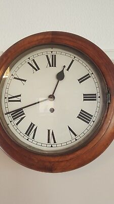 12 Inch Dial Antique School / Station wall Clock
