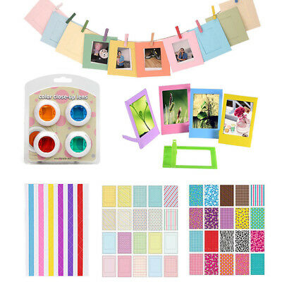 Colorful Filter Film Stickers Instant Camera Accessories Album Filter Latest