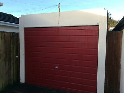 Prefabricated Concrete Sectional Garage with side access