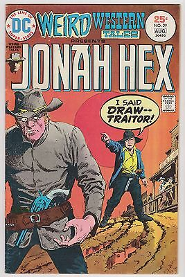 Weird Western Tales #29 Featuring The Origin of Jonah Hex, Very Fine Condition