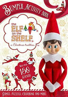 The Elf on the Shelf Bumper Activity Book by The Elf on the Shelf Book The Cheap