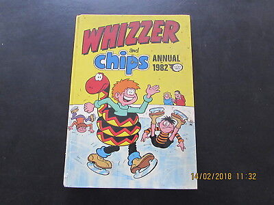 WHIZZER  and  CHIPS ANNUAL 1982  VERY GOOD FOR AGE