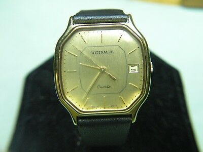 "Mens Rare & Vintage Wittnauer ""continental"" Swiss Watch Nos  #4173301 Wow!!!"