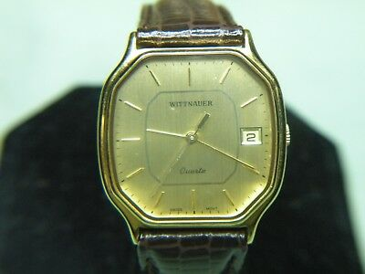 "Mens Rare & Vintage Wittnauer ""continental"" Swiss Watch Nos  #4173300 Wow!!!"