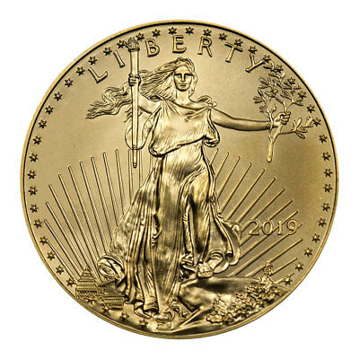 2019 1 oz Gold American Eagle $50 GEM BU SKU55909