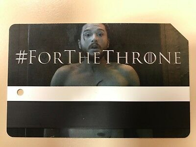 Limited Edition Game Of Thrones Jon Snow MTA Metro Card