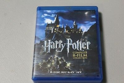 Harry Potter: Complete 8-Film Collection (Blu-ray Disc, 2011, 8-Disc Set) NL