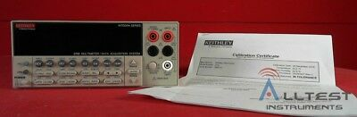Keithley 2700 DMM/Presicion Data Acquistion System 885701 *CALIBRATED*