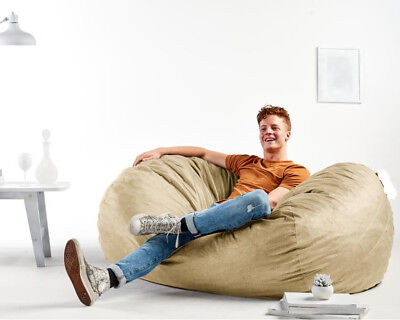 Groovy Giant Bean Bag Chair Bed Extra Large Xxl Lounger Huge Uwap Interior Chair Design Uwaporg