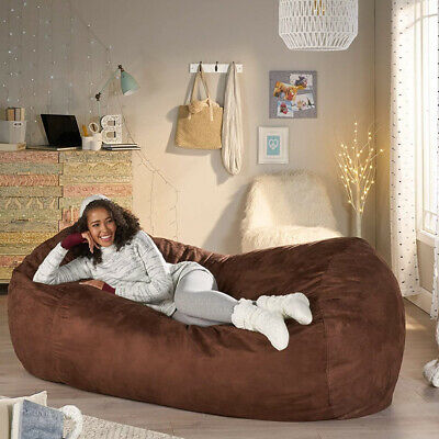 Super Giant Bean Bag Chair Bed Extra Large Xxl Lounger Huge Gmtry Best Dining Table And Chair Ideas Images Gmtryco