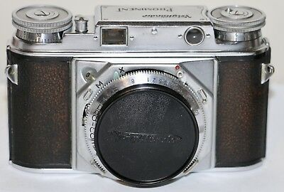 Voigtlander Prominent Body Only Sold AS IS Slow Speeds Are Sticking Version 1