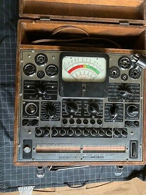 Precision 920 Tube Tester-Working