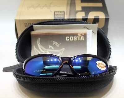 fbc8ff39fc336 Costa del Mar Fathom Global Polarized Sunglasses Tortoise Blue Mirror 400G  Glass