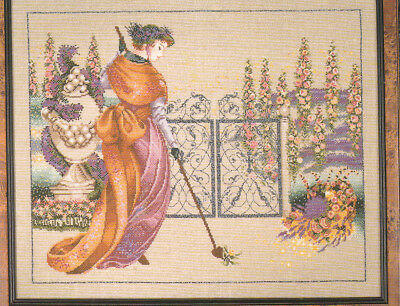 Mirabilia  MY LADYS GARDEN counted cross stitch pattern  MD 9 1995 OOP USA