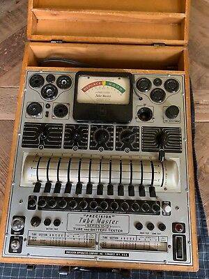 Precision 10-12 Tube Tester - Working