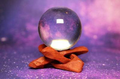 HAUNTED CRYSTAL BALL! Divination! Visions! Powerful! Psychic! Paranormal!