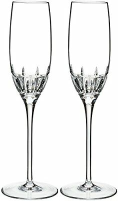 Marquis by Waterford Harper Flute, Pair, 7oz, Clear
