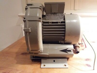 Siemens ELMO-G 2BH3 100 - 0AC19 Vacuum Pump Compressor Side Chanel Blower