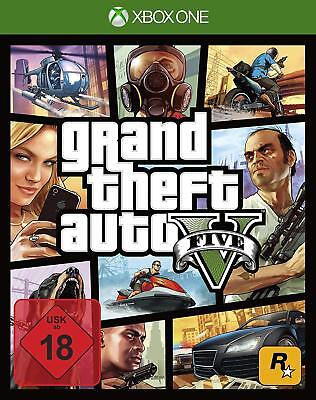 Xbox One Jeu Grand Theft Auto V Gta 5 Neuware