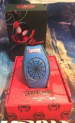 Disney Marvel Spiderman Into The Spiderverse Magicband Magic Band LE 1000 New