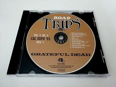 Grateful Dead Road Trips Cal Expo '93 Vol. 2 No. 4 1993 Replacement CD 1 Only !