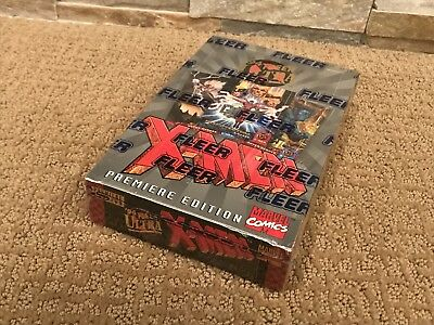1994 Fleer Ultra X-Men Factory Sealed Hobby Box New 36 Packs