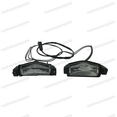 New Rear tail license number plate lights lamp Set for Mazda 3 Sedan 2008-2010