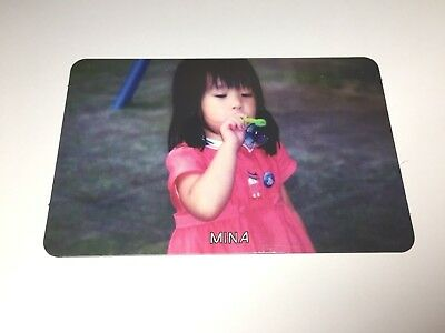 TWICE Mina The Story Begins Photocard (Like Ooh Ahh) Young Kid Version Card~USA~