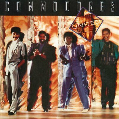 Commodores - United - Commodores CD KTVG The Cheap Fast Free Post The Cheap Fast