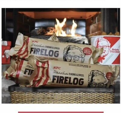 KFC 11 Herbs and Spices Fire Log - Limited Edition