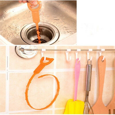 Bathroom Unclog Sink Tub Drain Sink Cleaner Drain Clog Hair Removal Stabs Tool