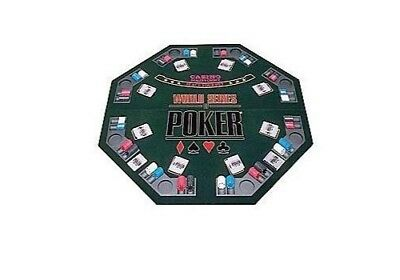 WSOP Professional Poker Tabletop + 500 Chips / Two Decks of Card in Hard Case