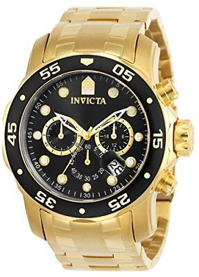 Invicta Men's 48mm Pro Diver Scuba Quartz Chronograph Stainless Steel
