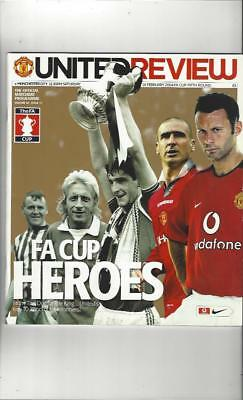 Manchester United v Manchester City FA Cup 2003/04 Football Programme