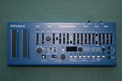 Roland Boutique SH-01A blue Synthesizer, Top !
