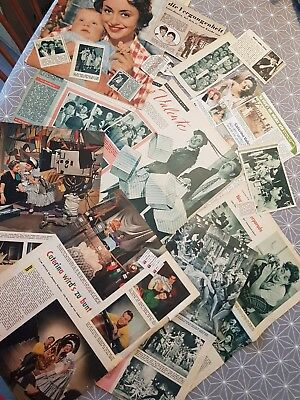 Clippings 50s Caterina Valente Peter Alexander