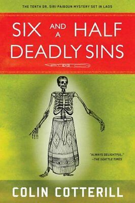 Six And A Half Deadly Sins by Colin Cotterill New Paperback / softback Book