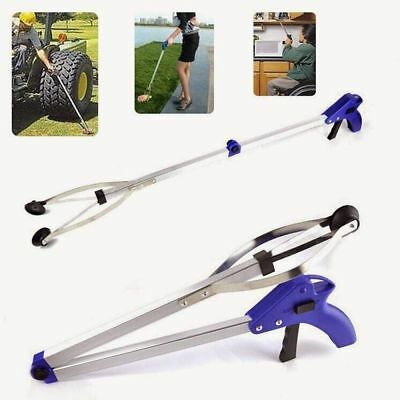 Long Folding Grabber Pick up Tool Reacher Extend Easy Reaching Stick Trash Stick