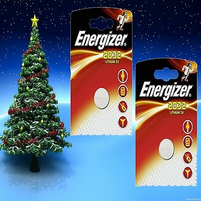 1 x Energizer CR2032 3V Lithium Coin Cell Battery UK