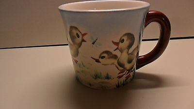 Duck Gosling Child Mug Easter Vintage Painted S Gaynor 1958 Personalized Jill