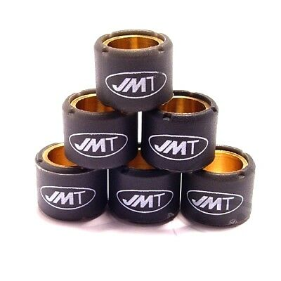Variomatic Roller Weights 8.0G JMT 19X17 Mm 6Pcs For Piaggio Beverly 125 2002