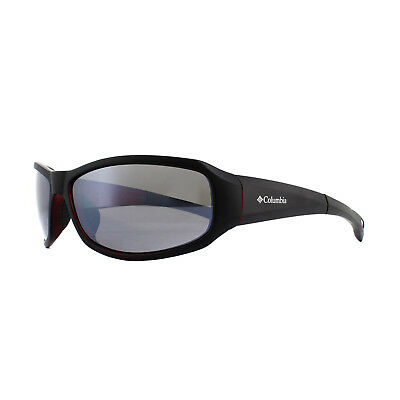 7373bb8a74 NEW COLUMBIA UNISEX Polarized Sport Sunglasses CBC80101 Black   Red ...