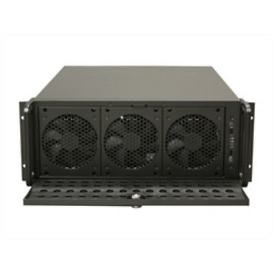 New Rosewill Case RSV-L4500 Server 4U 15Bays 8Fans USB E-ATX Black Metal/Steel R