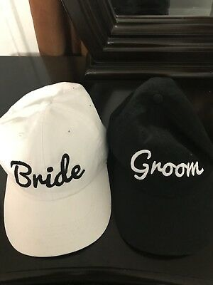 Embroidered Bride And Groom*free Shipping